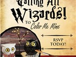 """October 2018 Kids Night Out """"Wizards!"""""""