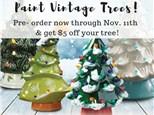 Pre-Order Christmas Trees at Color Me Mine - Henderson, NV (Pre-Order Ends November 11th)