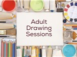 Book an Adult Drawing or Painting Open Session (Punch Card Required)