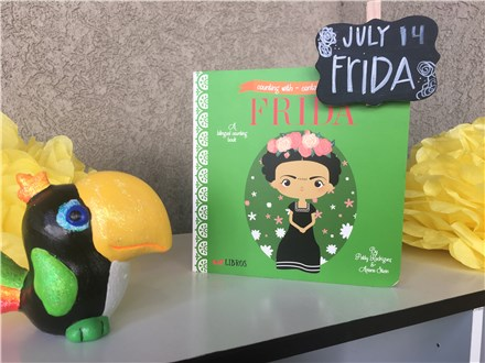 Bilingual Pre-School Storytime Frida