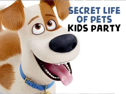Secret Life of Pets Kids Party - August 19