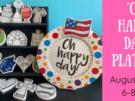"""""""Oh Happy Day"""" Platter"""