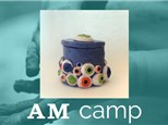Eyeball Jar (Clay at Your Own Risk) August 22nd, Morning Camp 2017