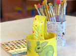 Clay Hand Building - Easter Basket - Afternoon Session - 04.03.18