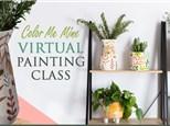 Virtual Ladies Night Out - Minimalist Vase BYOB