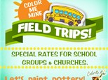 To-Go Field Trip at Color Me Mine Davie