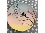 Zoom Class: Ombre Bird Plate
