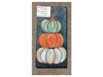 You Had Me at Merlot - Stacked Pumpkins - September 23rd