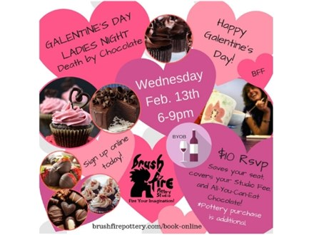 Galentine's Day -  Death By Chocolate