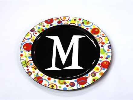 Masked Monogram Ceramics and Cocktails