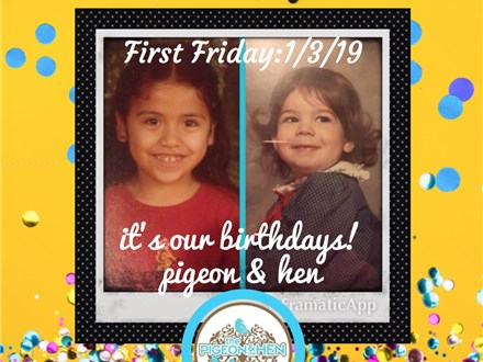 Birthday Party for Pigeon and Hen!!