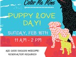 Puppy Love Day! SUNDAY, Feb 16th 11am-2pm