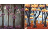 """""""Misty Blossoms"""" or """"Autumn Woods"""" (Painter's Choice!)"""