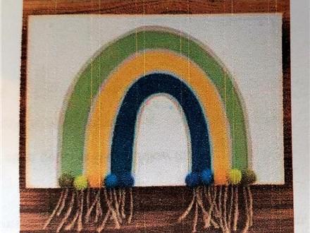 BOHO Rainbow Board Art ages 5 - 11