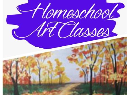 Homeschool Art Tuesdays!  10.19.21
