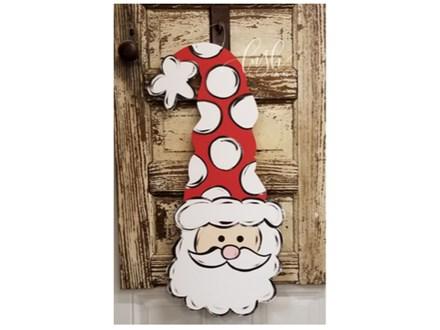 Santa Claus Door Hanger Paint Class