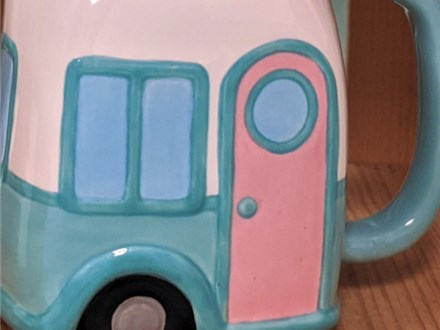Art Club: Camper Mug
