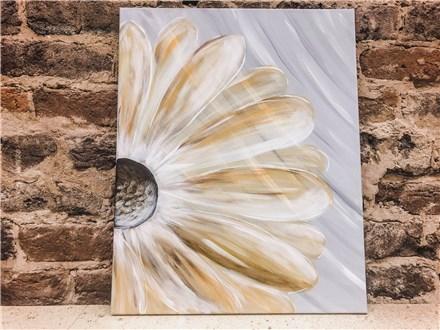 Sep. 6th Flower Canvas Class