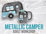 Adult Class: Metallic Camper - January 3rd @6PM