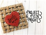 Project & Pizza Night at POTTERY BY YOU! (Reservation Fee)