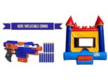 Combo ( Nerf and Inflatables)