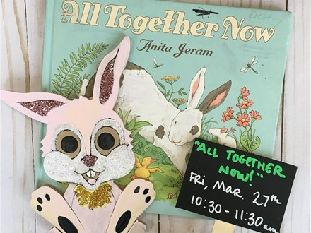"""Pre-K Story Time: """"All Together Now"""""""