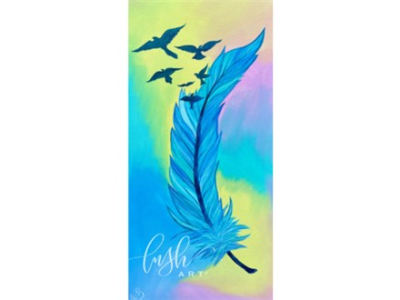 Feather Paint Class - PERRY