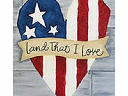 Land That I Love Canvas Class!