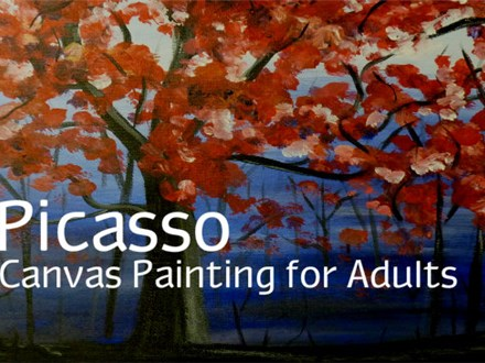 Picasso Canvas Painting Party Package for Adults