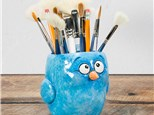 """"""" Quirky Bird"""" To-Go Kit-at Color Me Mine - Aspen"""