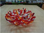 PRIVATE Coral Bowl Glass Fusing Class! SEPTEMBER 11TH