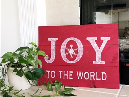 Joy to the World Sign Class - Dec. 2nd