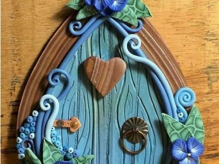 KNO Triangle: Clay Fairy Doors