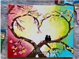 Love Birds Paint Class - WR