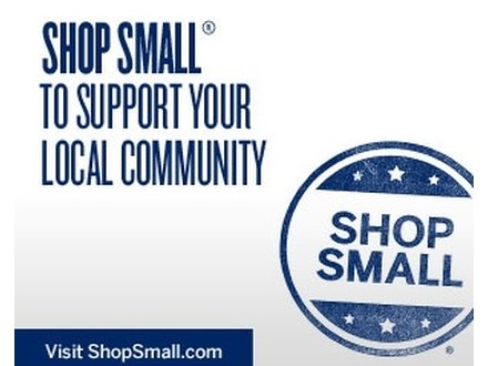 Shop Small, Shop Local Saturday