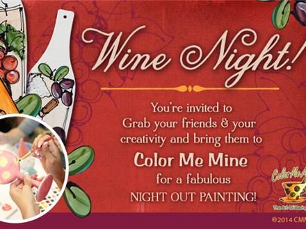 Wine Night - $2 Studio Fee and BYBO!