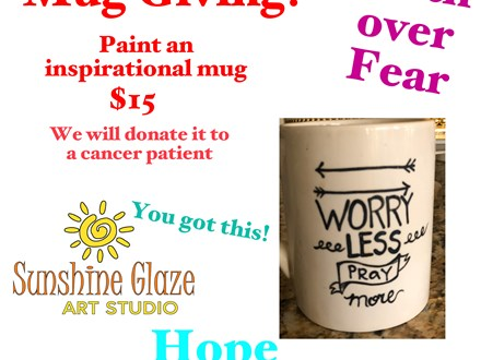 Believe Big Mug event