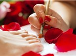 Manicure and Pedicure: Nailphoria Day Spa