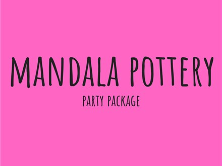 Mandala Pottery - Party Package