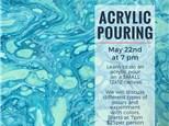 Acrylic Pouring - 12x12 canvas