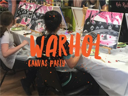 Warhol Canvas Party Package (Deposit)