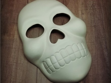 Full Size Face Mask - Ready to Paint