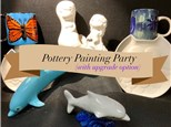 Pottery Painting Party - 2 Hours - Ages 8 to Adult