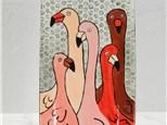 Flamingo Tray Workshop