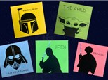 Family Star Wars Canvas Painting - February 29th