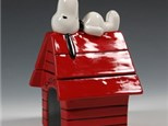 """"""" Snoopy on Doghouse Box""""  To-Go Kit-atColor Me Mine - Aspen"""