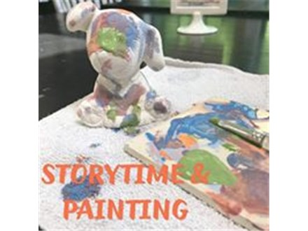 PAINT IN PJ'S Tuesday Story Time @ 6:30