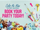 We Like To Party at Color Me Mine (Closed Studio Package) - Henderson, NV