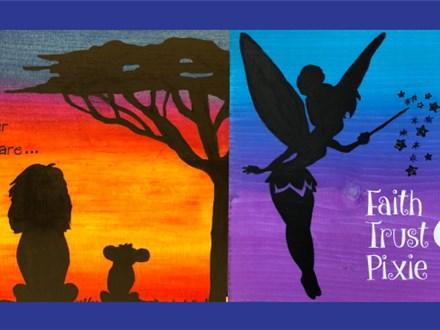 Disney Wood Sign Paint & Sip - July 25th