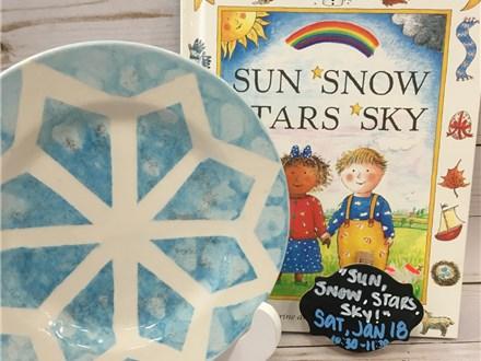 Pre- K Story Time; Sun, Snow, Stars, Sky